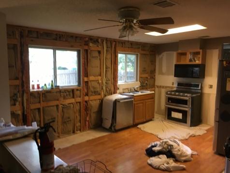 A still usable demo kitchen