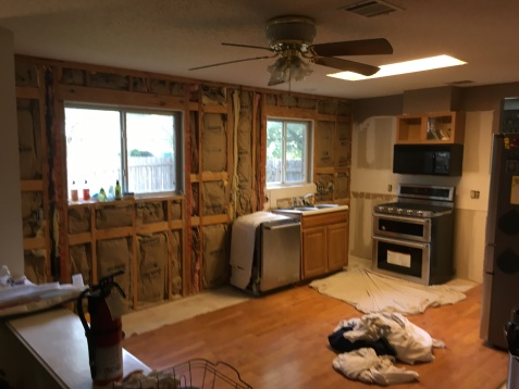 A still usable demo kitchen