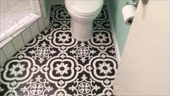 shower bath floor