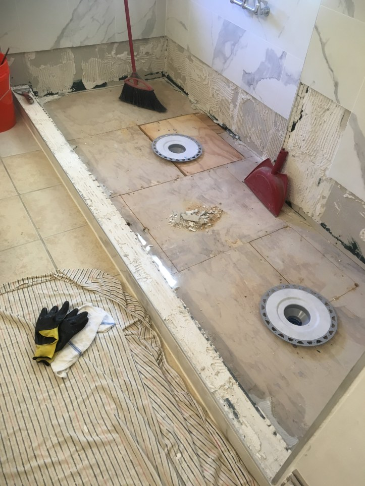 subfloor kerdi drains
