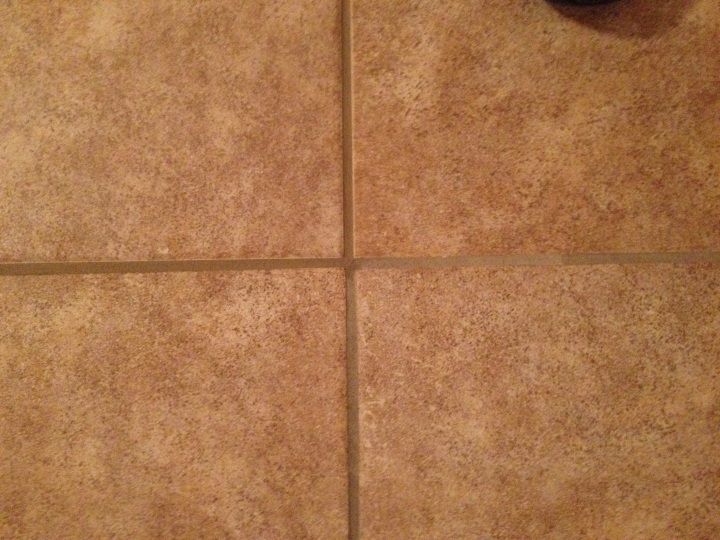 grout shade difference